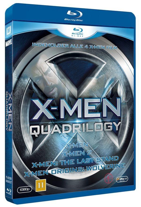 Køb X-Men: Quadrilogy Box [inkl. wolverine]
